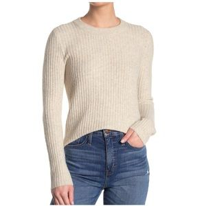 Madewell Emily Ribbed Knit Sweater